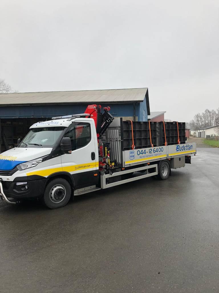 Iveco 70C18 Kranbil 7,2t, Boom / Crane / Bucket Trucks, Trucks and Trailers