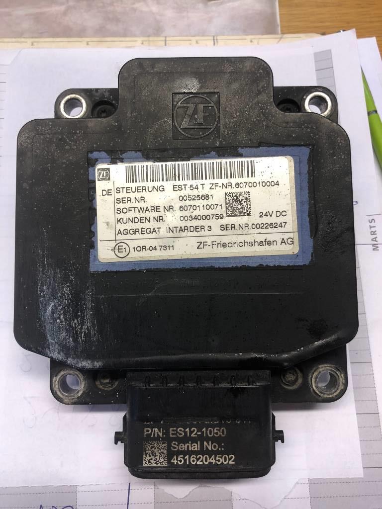 MAN 12AS3141 CONTROL INTARDER3 EST P/N: 81.25810-1016, Gearkasser, Transport