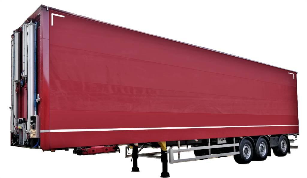 CMT NSP-24 HCT Nousukapellilava, Pressukapellipuoliperävaunut, Kuljetuskalusto