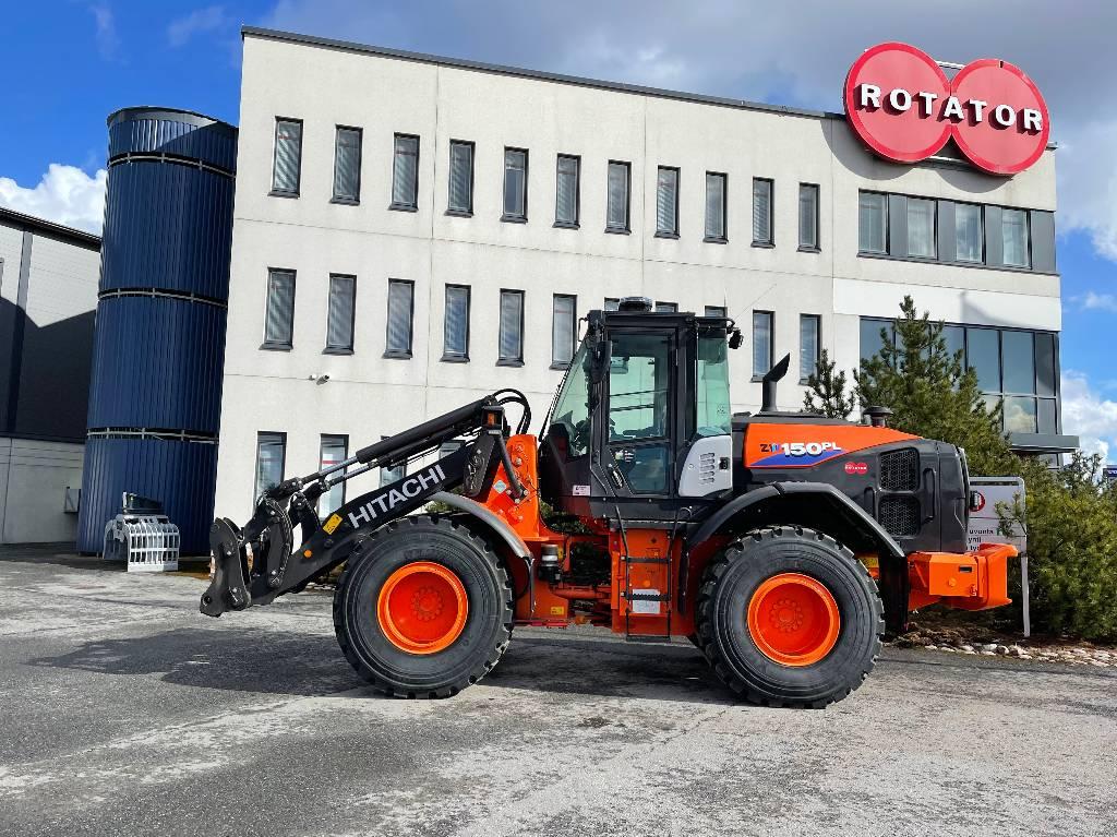 Hitachi ZW150PL-6, Pyöräkuormaajat, Maarakennus