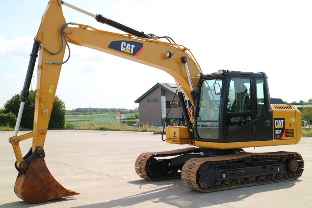 Caterpillar 313 F LGC, Crawler Excavators, Construction Equipment