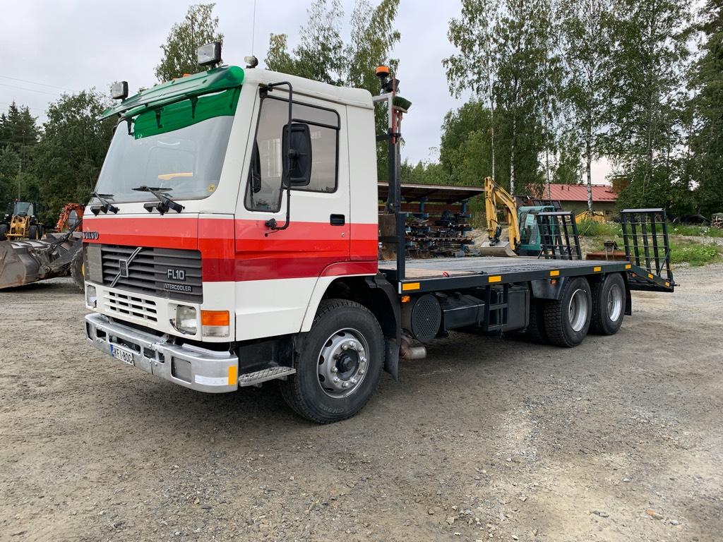 Volvo FL10 320, Lava-kuorma-autot, Kuljetuskalusto