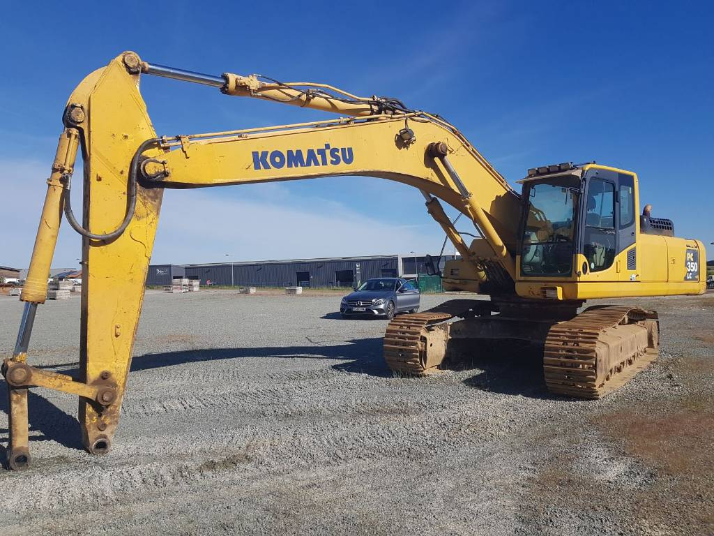 Komatsu PC350NLC-8, Crawler Excavators, Construction Equipment