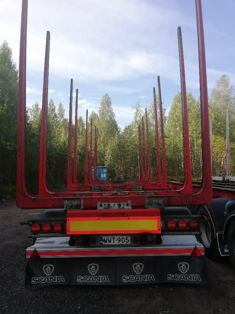 Jyki V42-T00 5-aks, Puuperävaunut, Kuljetuskalusto