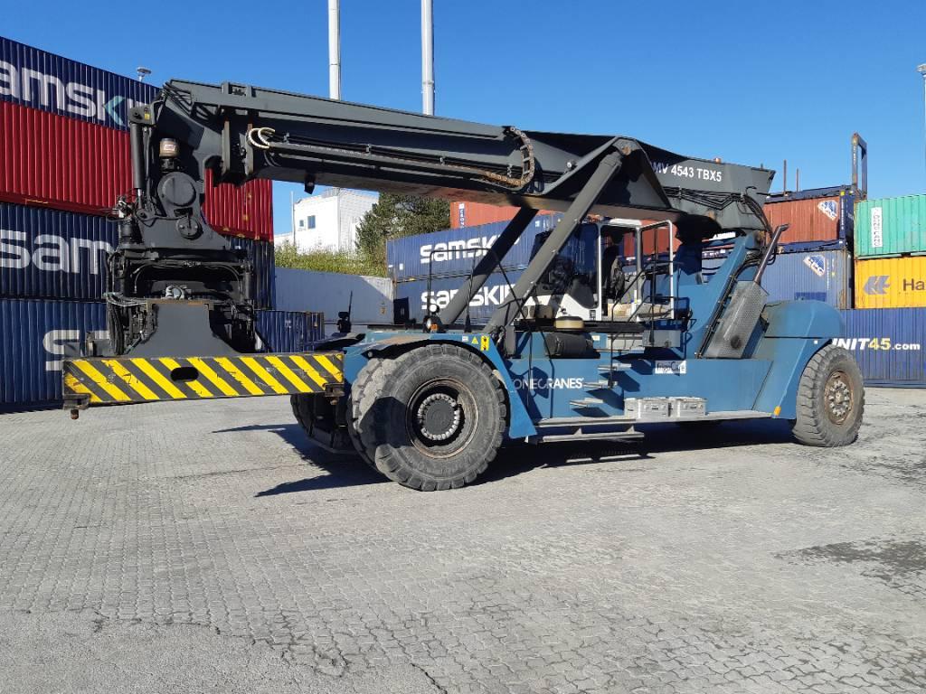 SMV 4543 TBX5, Reachstackers, Material Handling