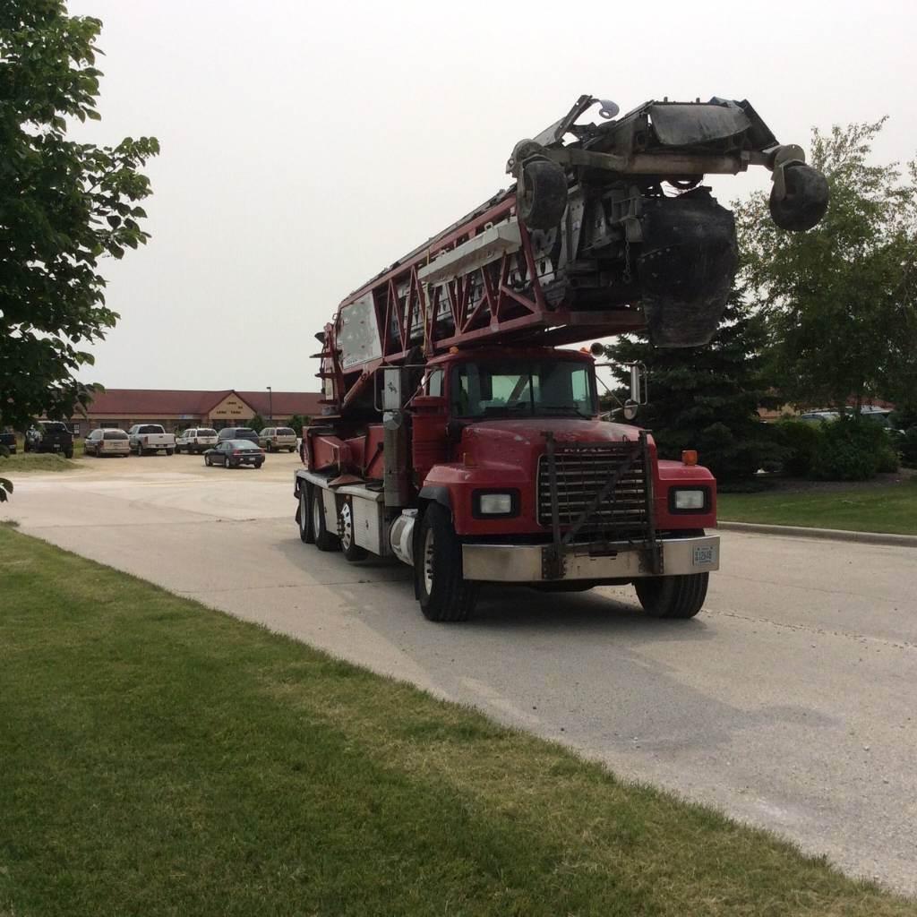 Putzmeister TB 105, Boom Pumps, Construction Equipment