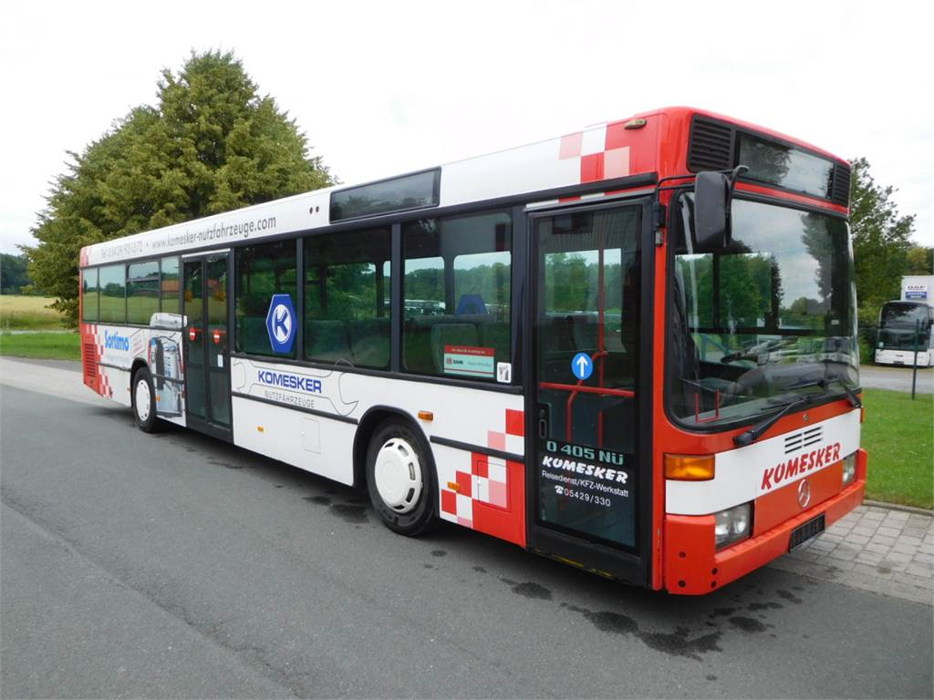 Mercedes-Benz N 405 NÜ, Public transport, Transportation