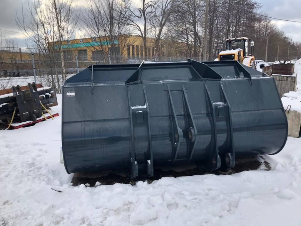 Hyundai HL970, Buckets, Construction
