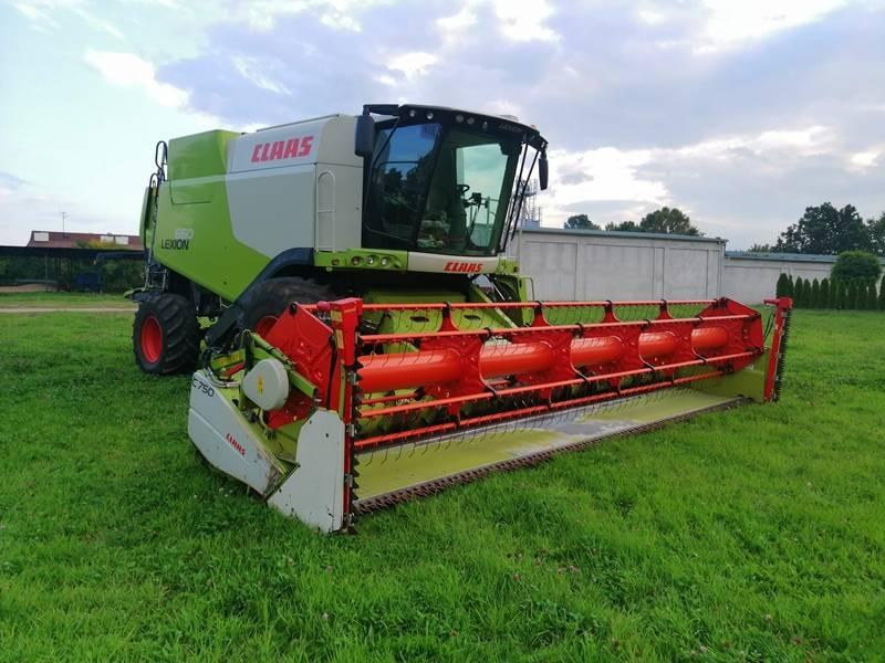 CLAAS CLAAS LEXION 660 Z PRZYRZĄDEM ŻNIWNYM C750, Kombajny zbożowe, Maszyny rolnicze