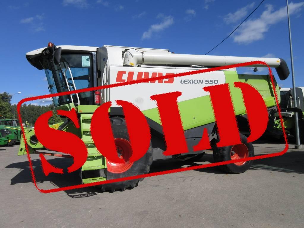 CLAAS Lexion 550, Kombainid, Põllumajandus
