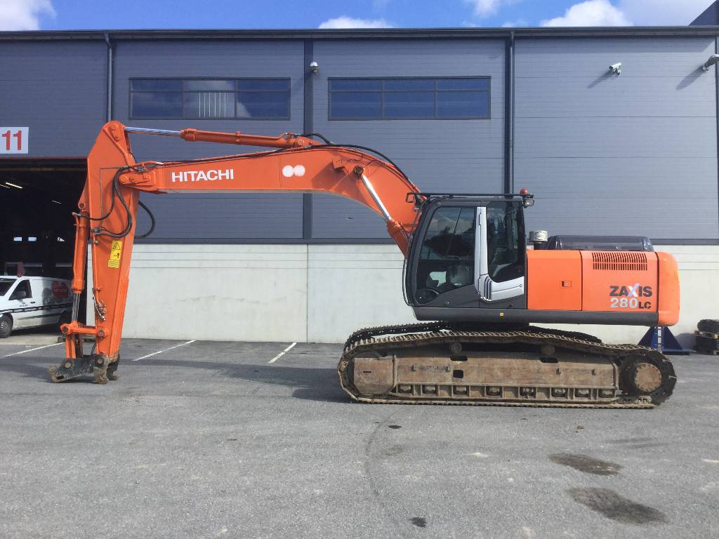 Hitachi ZX280LC-3, Crawler excavators, Construction