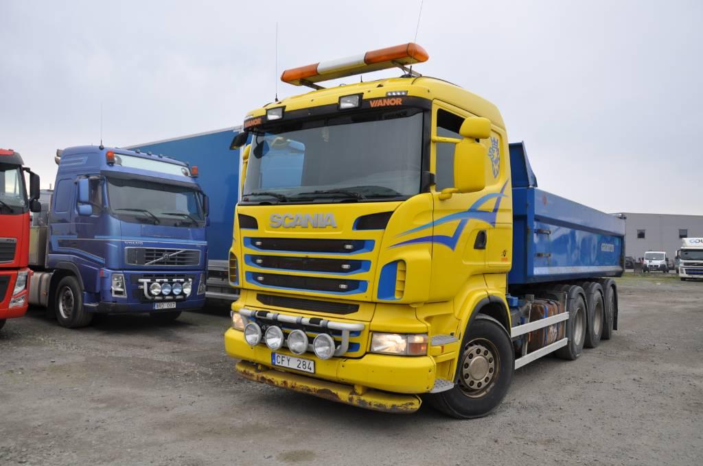 Scania R480 Tridem 8x4, Tippbilar, Transportfordon