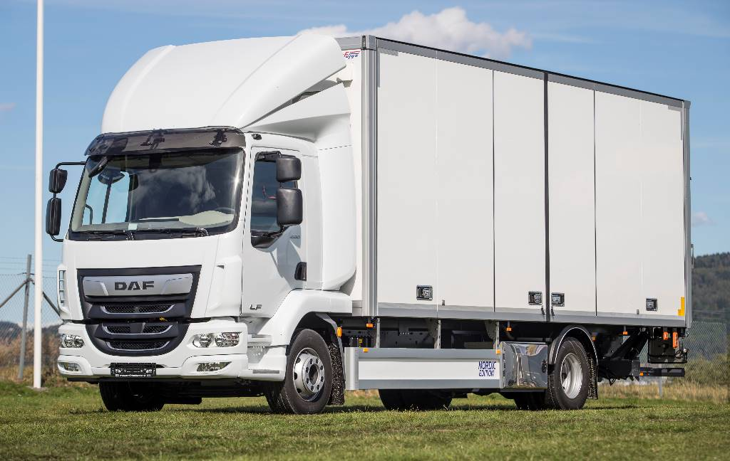 DAF LF 290 19t - Nordic Edition, Box trucks, Trucks and Trailers