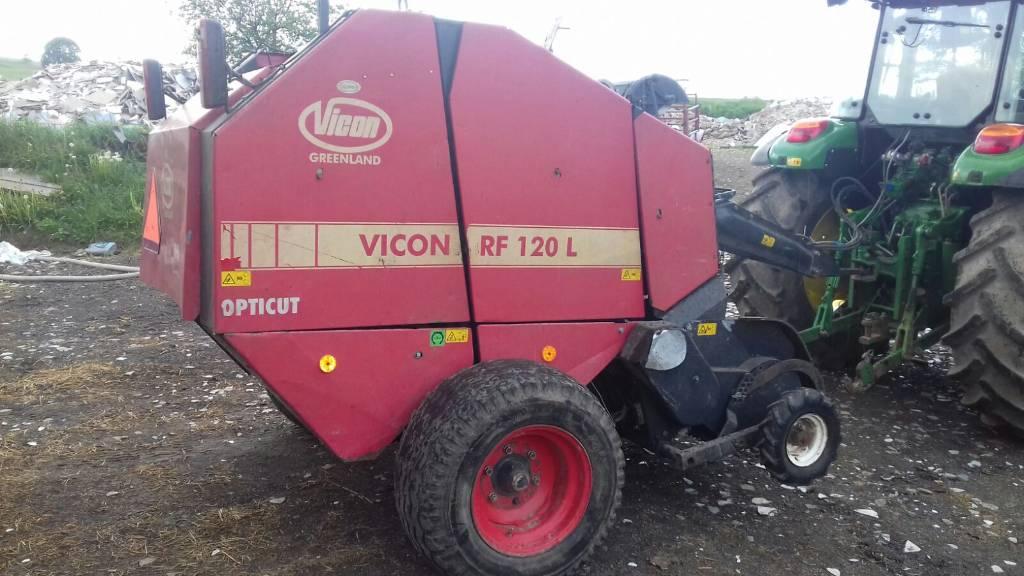 Vicon RF 120, Prasy zwijające, Maszyny rolnicze