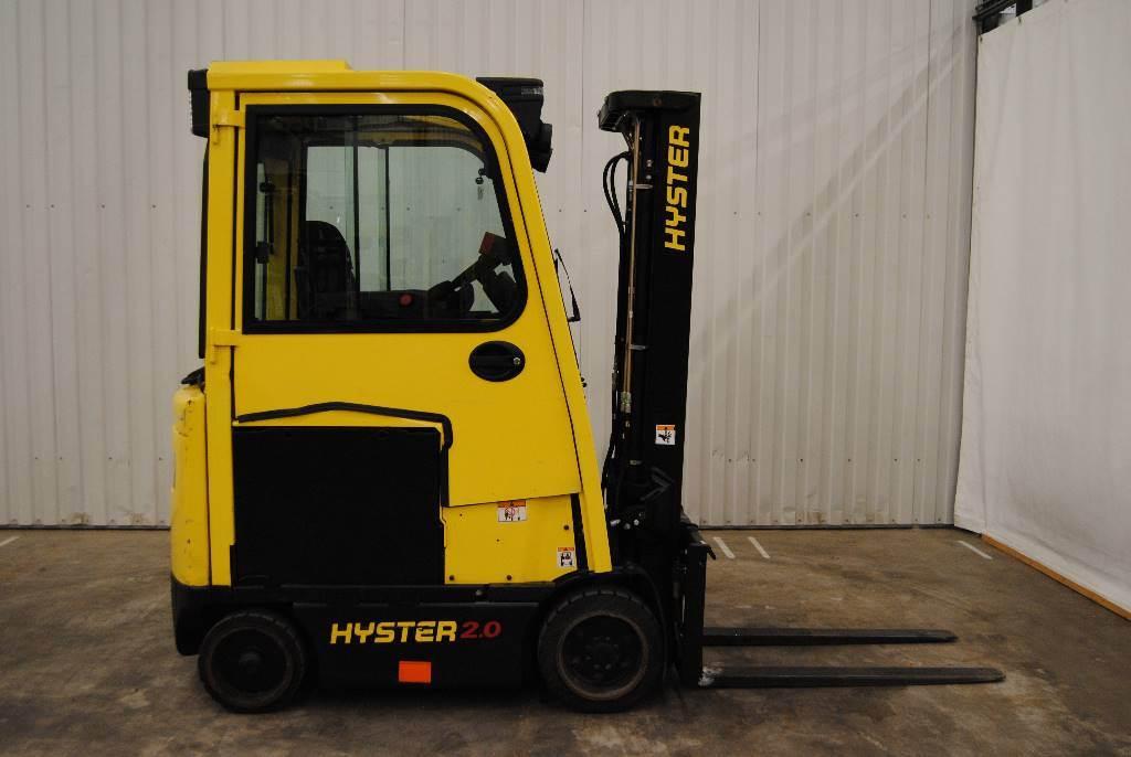 Hyster E2,0XN, Elmotviktstruckar, Materialhantering