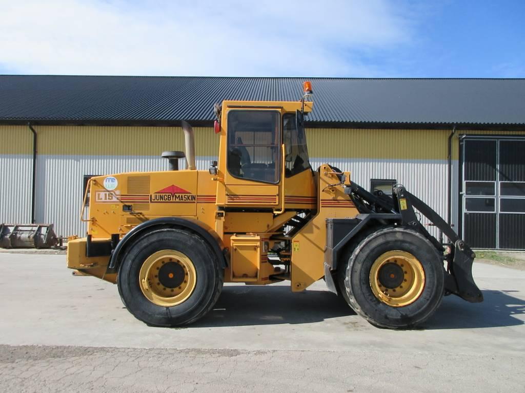 Ljungby L15 lastmaskin, all utr, mercedes, Hjullastare, Entreprenad