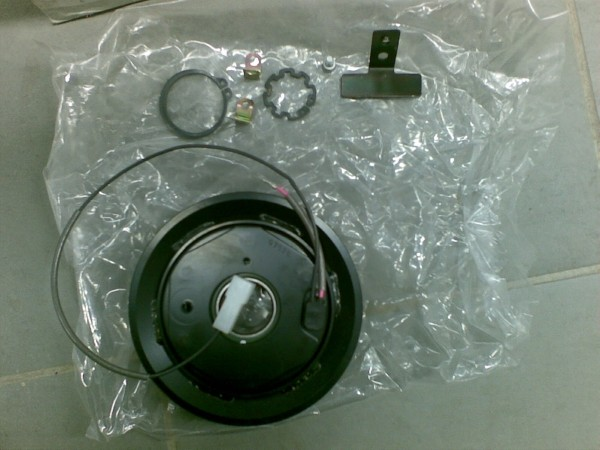 Bell Air Con Coupling/Clutch, Other components, Construction