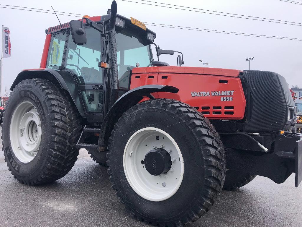 Valtra 8550 Hi-Tech. Aj 7490 h, Traktorit, Maatalous