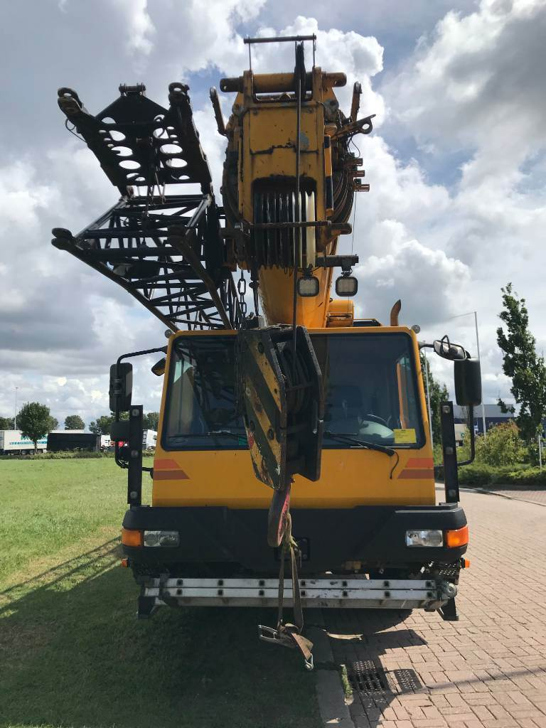 Liebherr LTM 1030-2, All terrain cranes, Construction