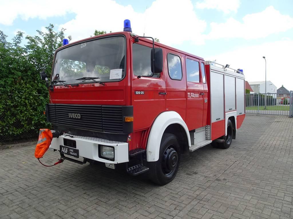 Iveco 120-25 4x4 Magirus 2.000 Ltr., Fire trucks, Transportation