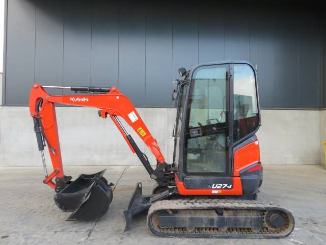 Kubota U 27-4, Mini excavators < 7t (Mini diggers), Construction