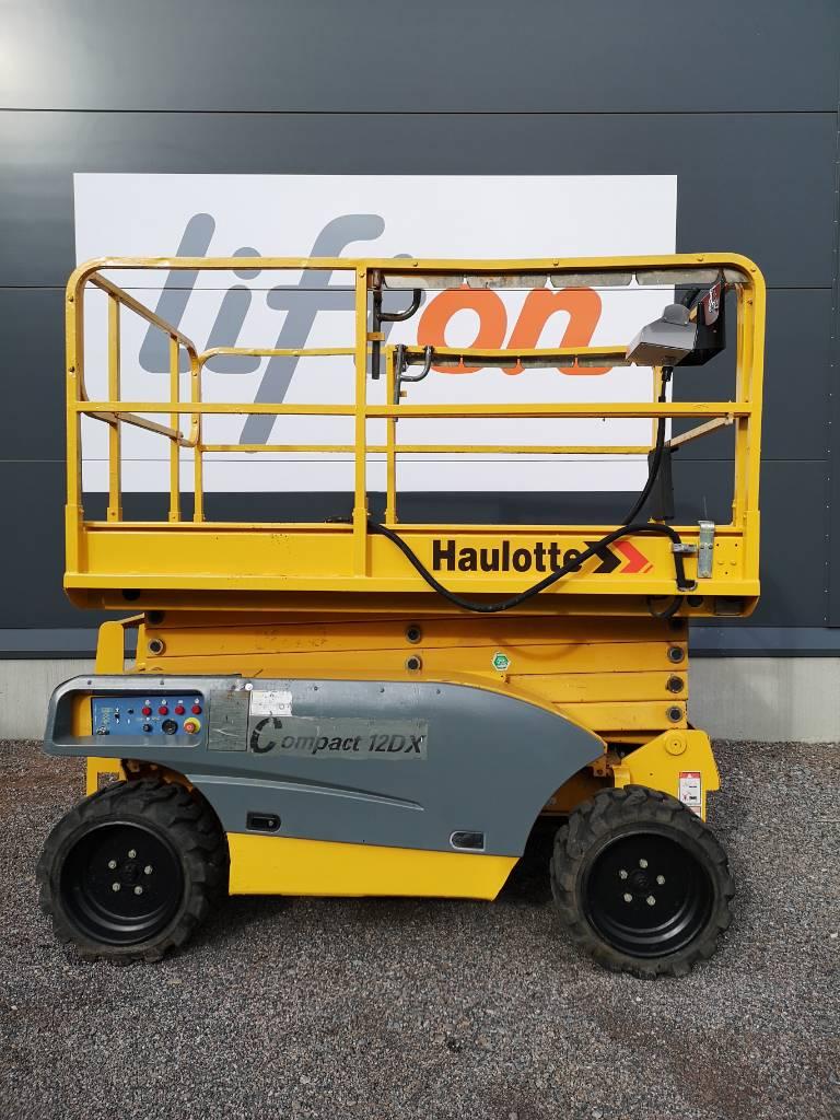 Haulotte Compact 12 DX, Saxliftar, Entreprenad
