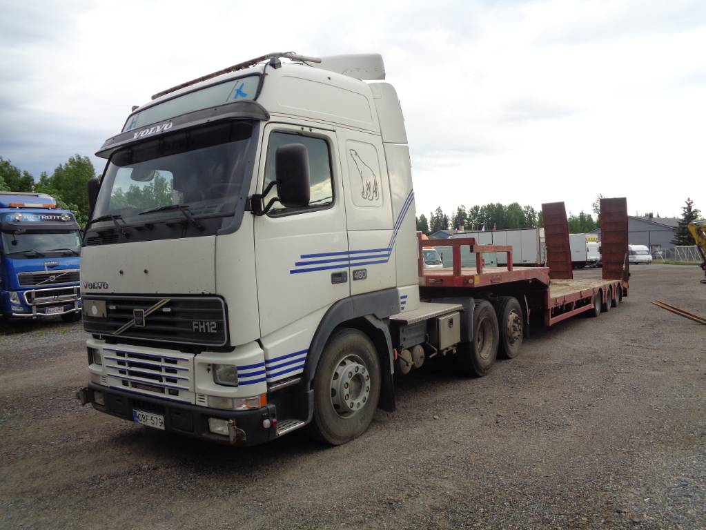 Volvo FH 6x2, Vetopöytäautot, Kuljetuskalusto