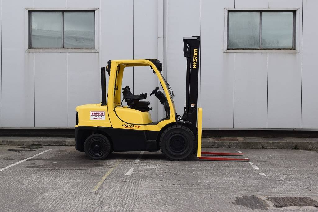 Hyster H 4.00 FT, Diesel counterbalance Forklifts, Material Handling