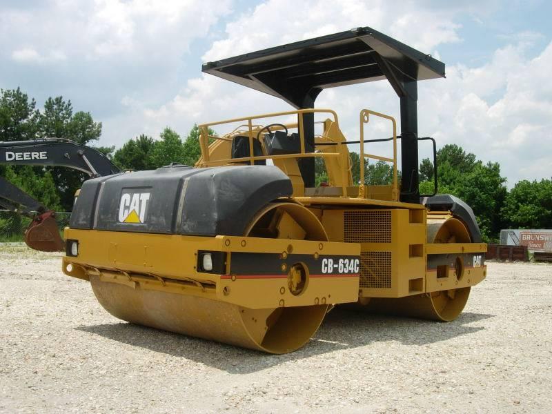 Caterpillar CB634C, Twin drum rollers, Construction Equipment