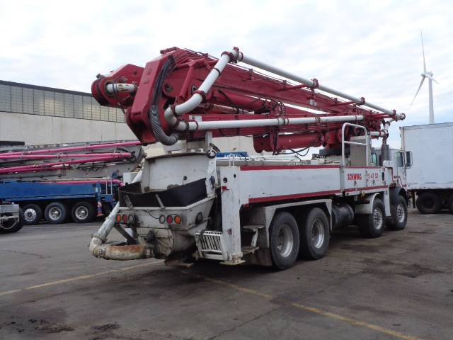 Schwing 47 SX, Boom Pumps, Construction Equipment