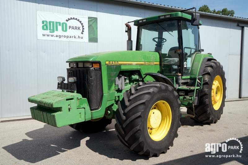 John Deere 8400 (18251 hours), Fixed axle, 16 4 PowerShift