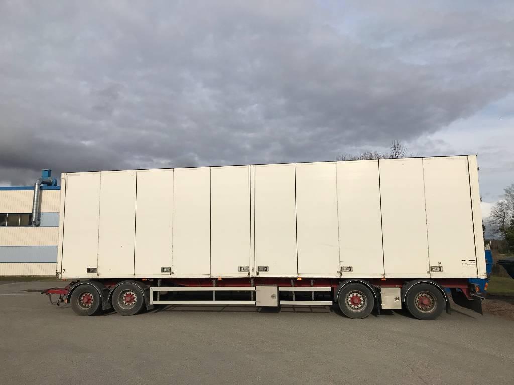 Ekeri Skåpsläp, Box Trailers, Trucks and Trailers