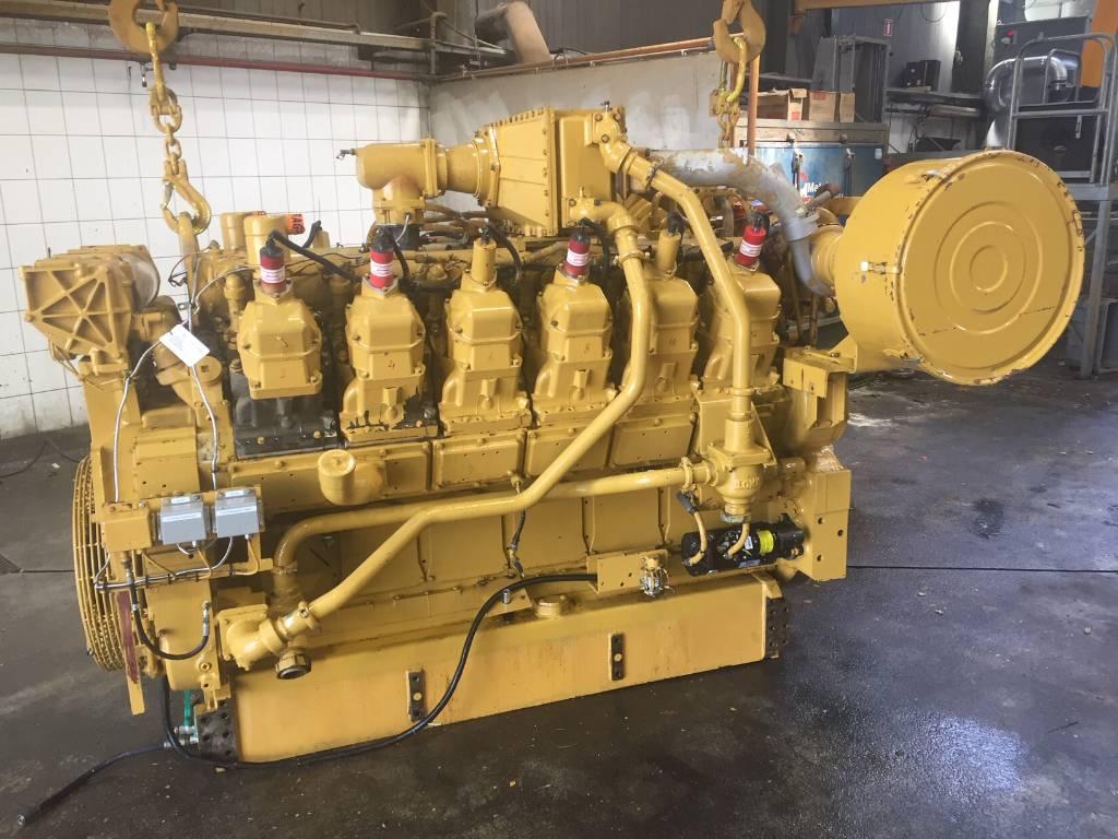 Caterpillar G 3512 - Gas Engine - 535 kW - DPH 103695, Industrial Applications, Construction