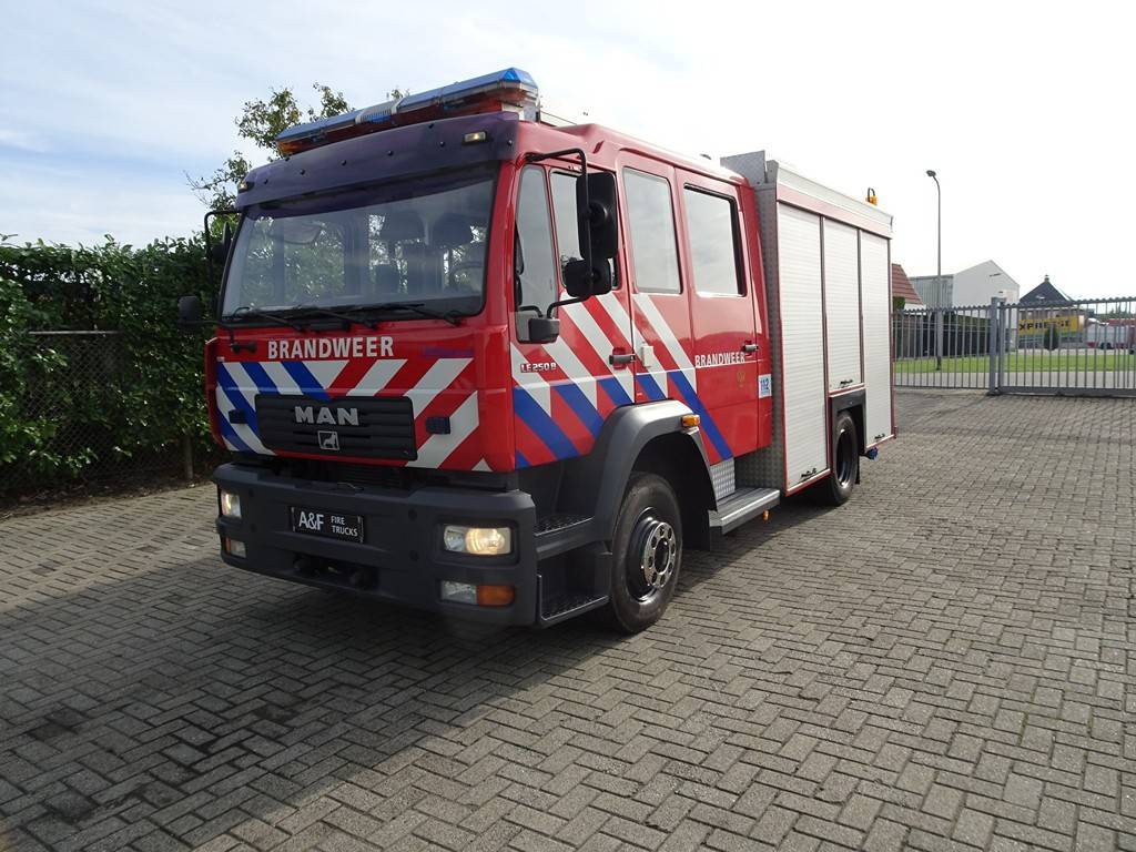 MAN LE 250B  HDS Godiva, Fire trucks, Transportation