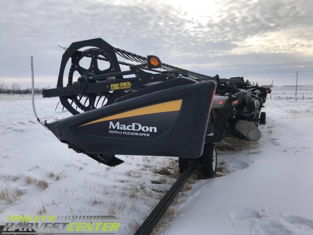 MacDon FD75, Combine headers, Agriculture