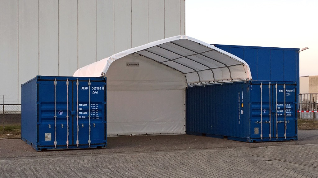 Used Kroftman Container Shelter Container Canopy Conta