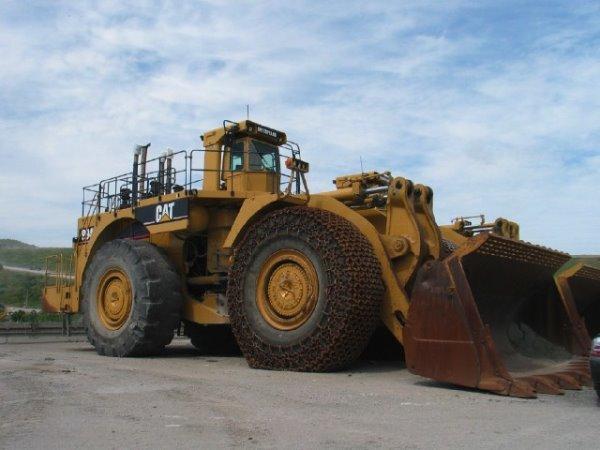 Caterpillar 994 L192, Wheel Loaders, Construction Equipment