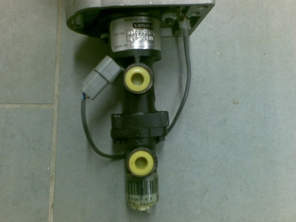 Bell Brake Pedal Valve, Other components, Construction