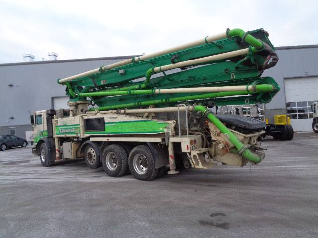 Putzmeister BSF 36Z, Boom Pumps, Construction Equipment
