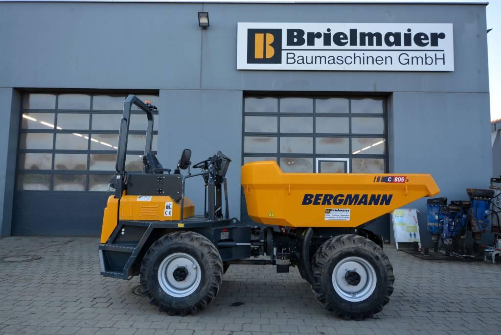 Bergmann C805s, Dumper - Knickgelenk, Baumaschinen