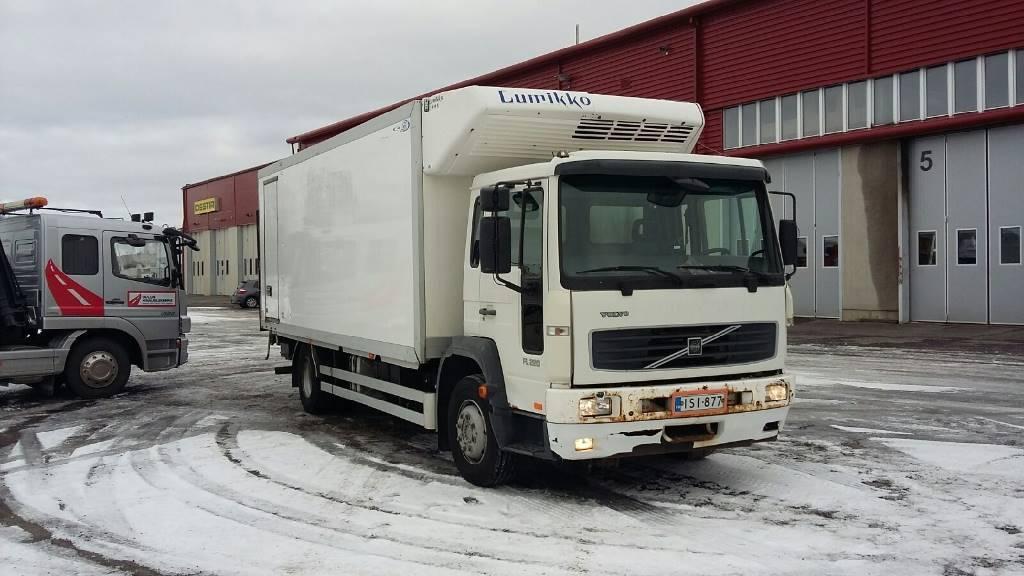 Volvo FL614 Kylmäkori + PL, Kylmä-/Lämpökori kuorma-autot, Kuljetuskalusto