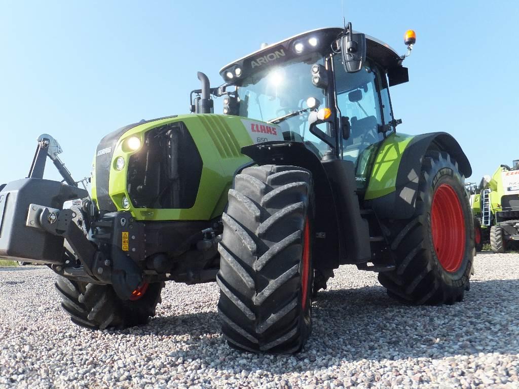 CLAAS Arion 650 Cmatic, Traktoriai, Žemės ūkis