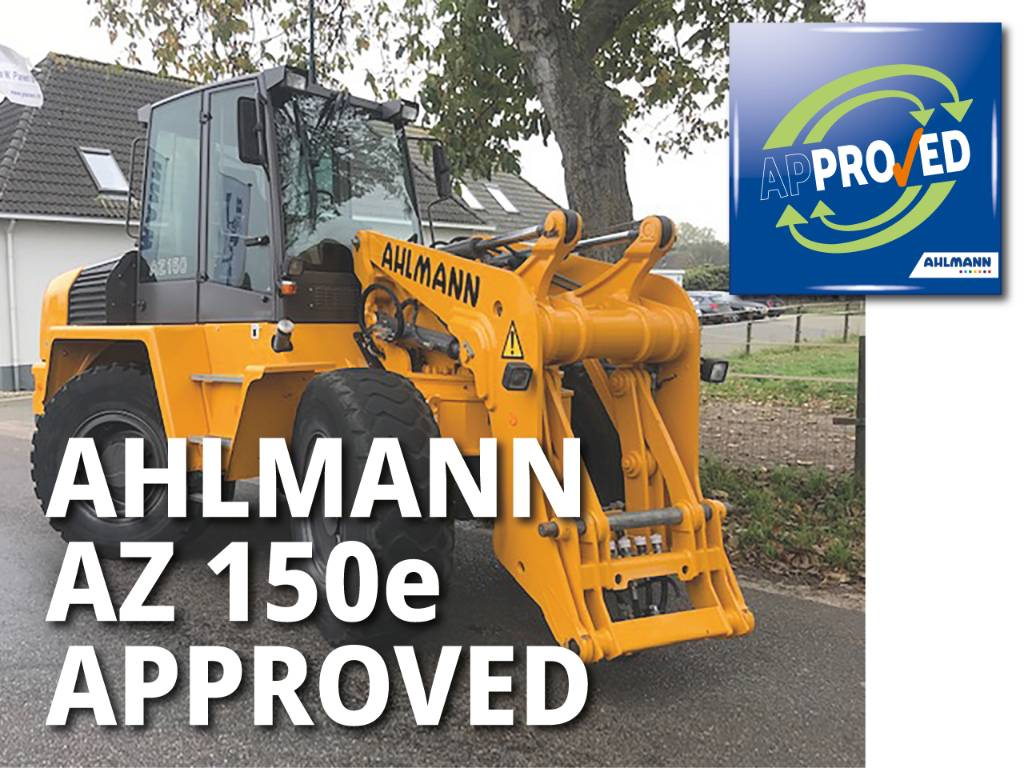 Ahlmann Zwenklader AZ 150e, Wielladers, Bouw