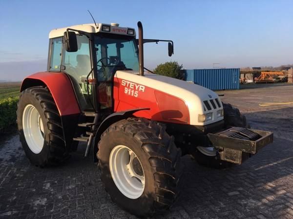Steyr 9115, Tractoren, Landbouw