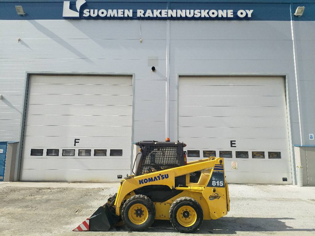 Komatsu SK815-5, Skid steer loaders, Construction