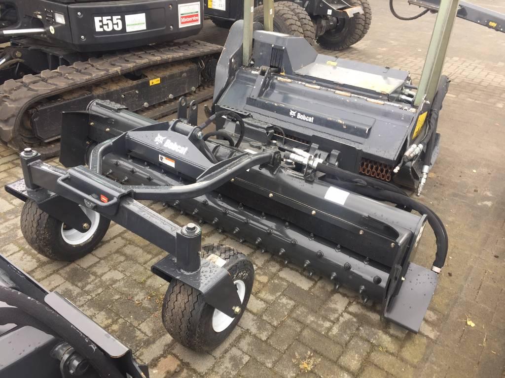 Bobcat Kraftrechen Soilconditioner 214cm HF, Skid Steer Loaders, Construction Equipment