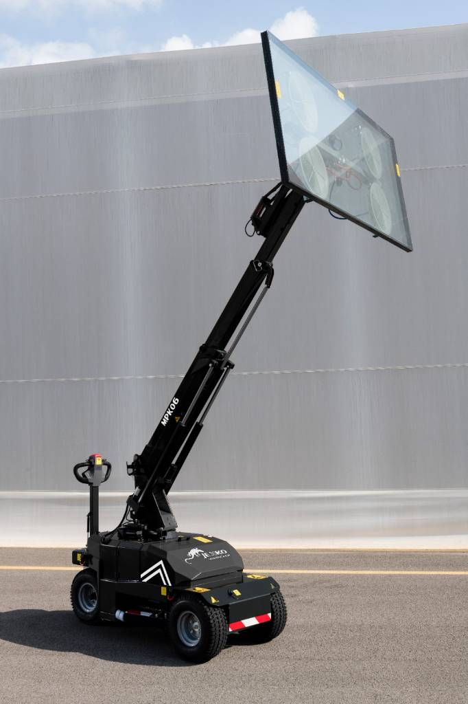 Jekko MPK06, Mini cranes, Construction