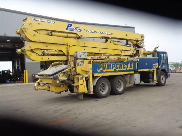 Putzmeister 36z-180, Boom Pumps, Construction Equipment