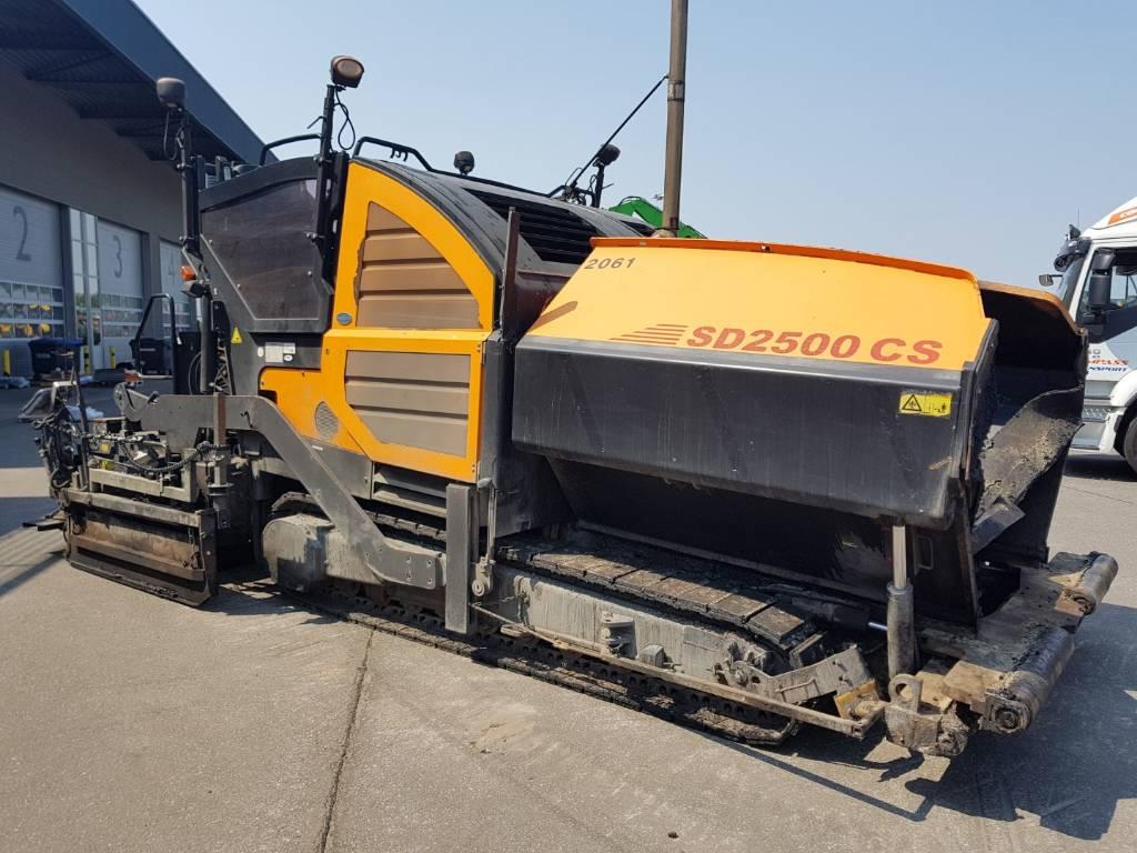 Dynapac SD 2500 CS, Asphalt pavers, Construction Equipment