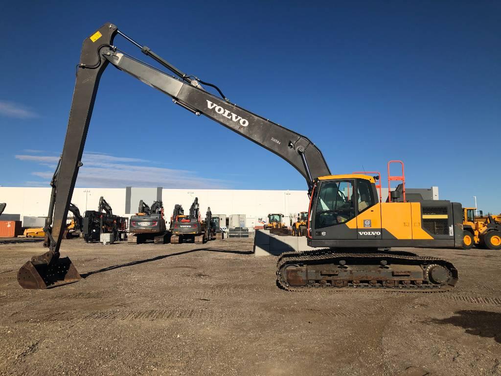 Volvo EC220ELR, Crawler Excavators, Construction Equipment
